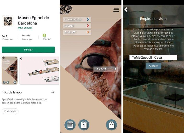 Museu Egipci de Barcelona App