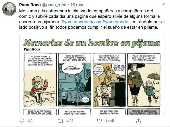 Paco Roca Twitter