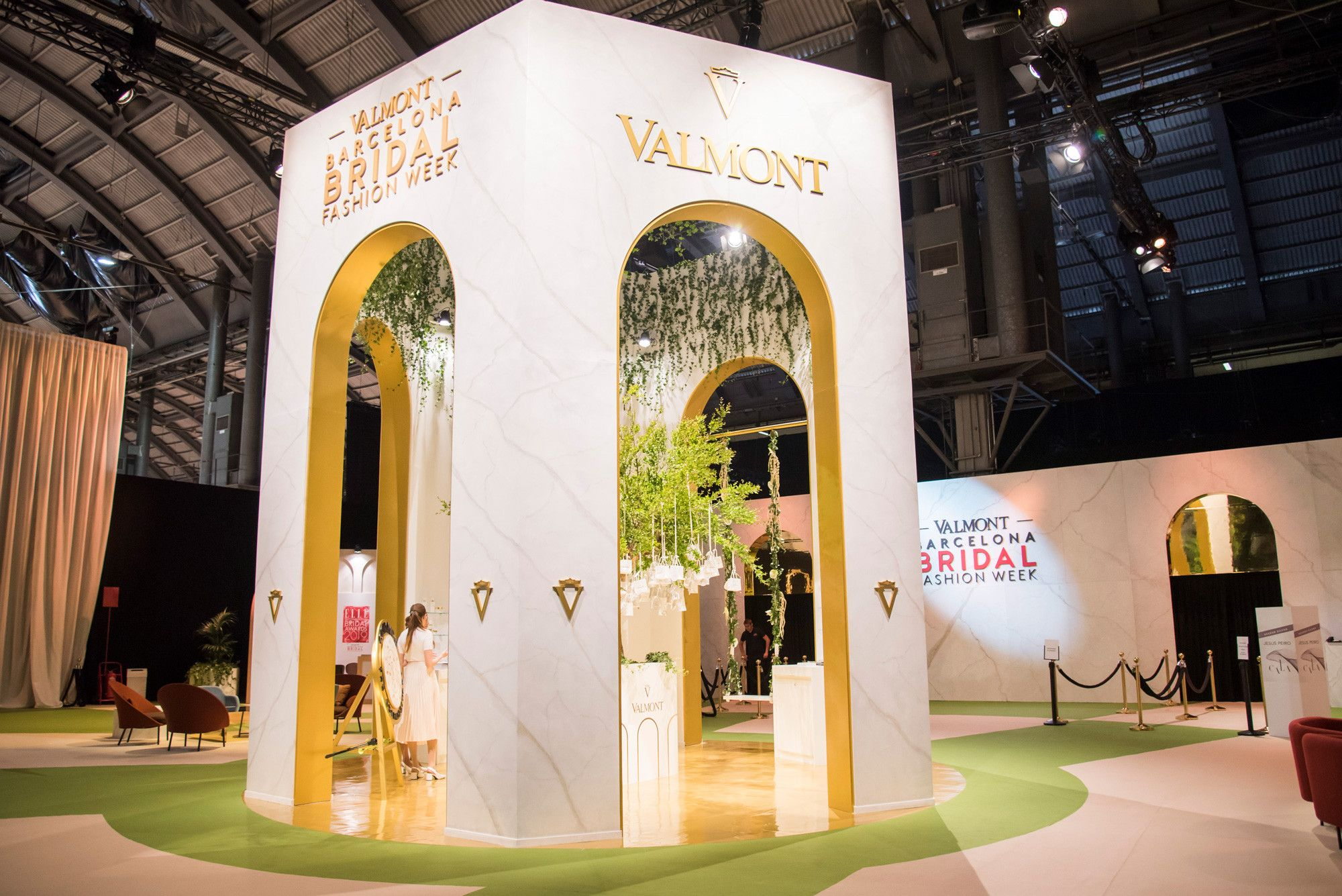 Stand Valmont - Barcelona Bridal Fashion Week