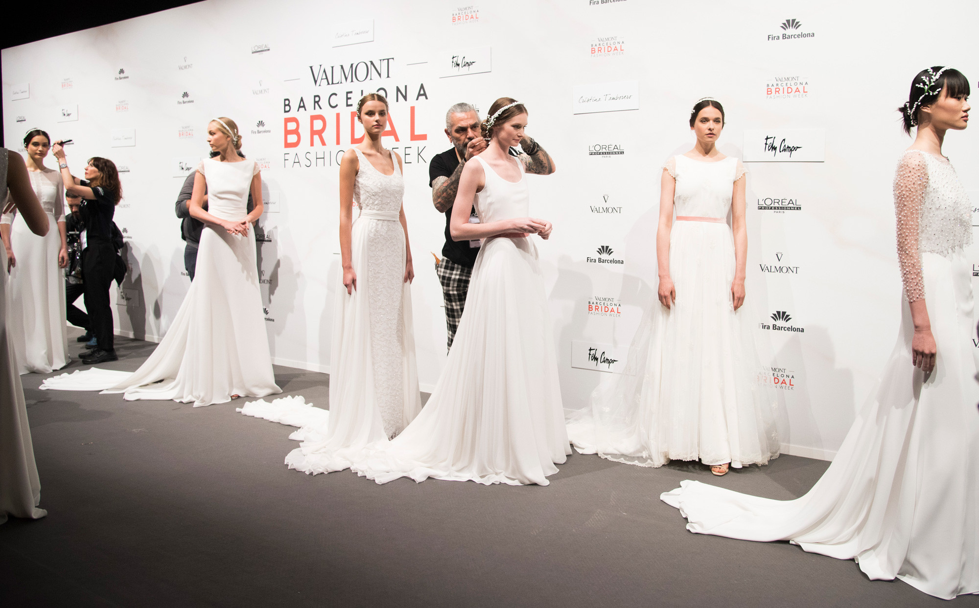 Valmont - Barcelona Bridal Fashion Week